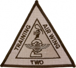 View Buying Options For The Training Air Wing Two Triangle Iron-On Patch