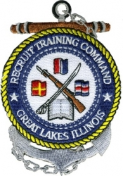 View Buying Options For The Recruit Training Command Great Lakes Illinois Iron-On Patch