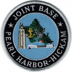 View Buying Options For The Joint Base Pearl Harbor-Hickam Iron-On Patch