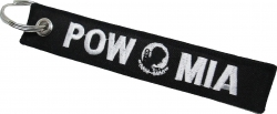 View Buying Options For The POW MIA Key Ring Pull Tag Embroidered Keychain