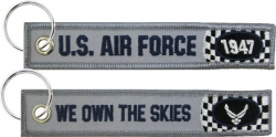 View Buying Options For The US Air Force We Own The Skies Racing Key Ring Tag Keychain
