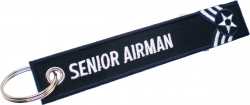 View Buying Options For The US Air Force Senior Airman Key Ring Tag Keychain