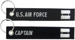 View Buying Options For The US Air Force Captain Key Ring Tag Keychain