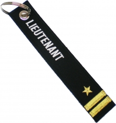 View Buying Options For The U.S. Navy Lieutenant Key Ring Pull Tag Embroidered Keychain