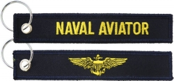 View Buying Options For The Naval Aviator Key Ring Pull Tag Keychain