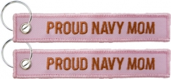 View Buying Options For The Proud Navy Mom Key Ring Tag Keychain