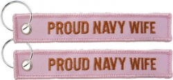 View Buying Options For The Proud Navy Wife Key Ring Tag Keychain