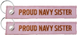 View Buying Options For The Proud Navy Sister Key Ring Tag Keychain