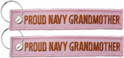 View Buying Options For The Proud Navy Grandmother Key Ring Tag Keychain