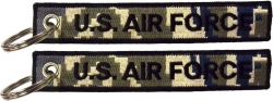 View Buying Options For The US Air Force A.C.U. Digital Camo Key Ring Tag Keychain