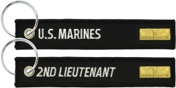 View Buying Options For The US Marines 2nd Lieutenant Key Ring Tag Keychain