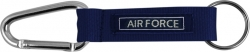 View Buying Options For The Air Force Rope Carabiner Key Ring Tag Embroidered Keychain