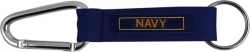 View Buying Options For The Navy Rope Carabiner Key Ring Tag Keychain