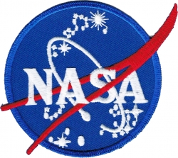 View Buying Options For The NASA Official Circle Logo Iron-On Patch