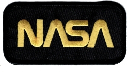 View Buying Options For The NASA Logo Rectangular Iron-On Patch