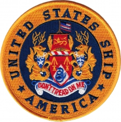 View Buying Options For The USS America CV-664 Iron-On Patch