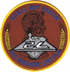 View Buying Options For The USS Abraham Lincoln CVN-72 Iron-On Patch