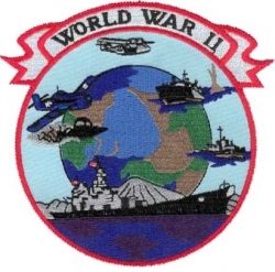 View Buying Options For The World War II Iron-On Patch