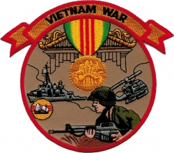 View Buying Options For The Vietnam War Iron-On Patch