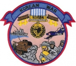 View Buying Options For The Korean War Iron-On Patch