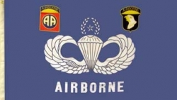 View Buying Options For The Airborne Wings Large Flag