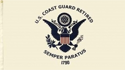 View Buying Options For The United States Coast Guard Retired Large Flag
