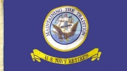 View Buying Options For The U.S. Navy Retired Large Flag