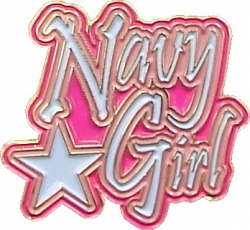 View Buying Options For The Navy Girl Star Lapel Pin