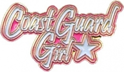 View Buying Options For The Coast Guard Girl Star Lapel Pin