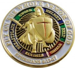 View Buying Options For The Put On The Whole Armor of God Lapel Pin