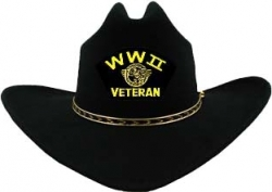 View Buying Options For The WWII Veteran Duck Patch Felt Cowboy Western Mens Hat