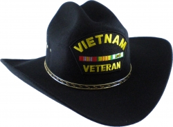View Buying Options For The Vietnam Veteran Ribbons Patch Felt Cowboy Western Mens Hat