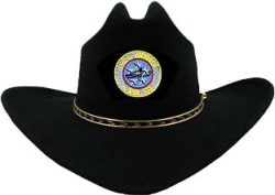 View Buying Options For The USS Nimitz CVN-68 Patch Felt Cowboy Western Mens Hat