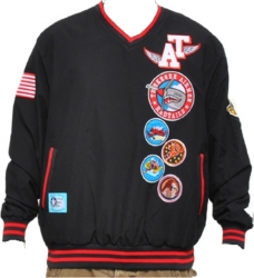 View Buying Options For The Tuskegee Airmen Red Tails Commemorative S3 Mens Pullover Windbreaker Jacket