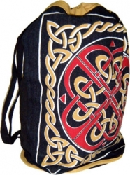 View Buying Options For The Celtic Knot Print Backpack Knapsack