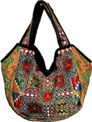 View Buying Options For The Banjara Style Embroidered Gypsy Purse
