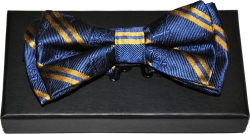 View Buying Options For The Mason Striped Divine Mens Bow Tie