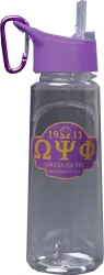 View Product Detials For The Omega Psi Phi Eastman Tritan Water Bottle