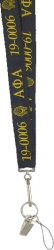 View Buying Options For The Alpha Phi Alpha Break Away Woven Lanyard Keychain
