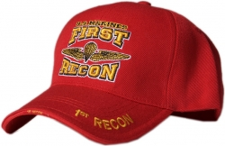 View Buying Options For The U.S. Marines First Recon Emblem Mens Cap