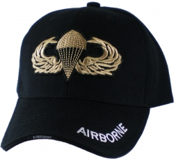 View Buying Options For The Army Airborne Gold Parachute Badge Mens Cap
