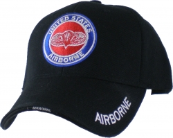 View Buying Options For The United States Airborne Wings Logo Round Emblem Mens Cap