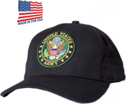 View Buying Options For The US Army Round Logo Made In USA Mens Cap