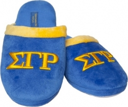 View Buying Options For The Sigma Gamma Rho Embroidered Ladies Terry Cloth Clog Slippers