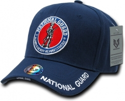 View Buying Options For The RapDom U.S. National Guard Round Emblem Deluxe Mens Cap