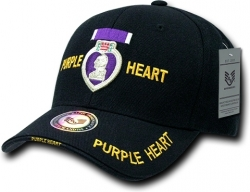 View Buying Options For The RapDom Purple Heart The Legend Milit. Mens Cap