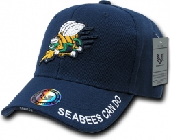 View Buying Options For The RapDom Navy Seabees The Legend Milit. Mens Cap