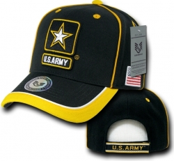 View Buying Options For The RapDom U.S. Army Strong Star Logo Emblem Piped Mens Cap