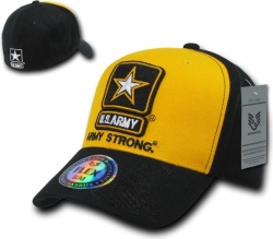 View Buying Options For The RapDom Army Strong 2-Tone Flex Military Mens Cap
