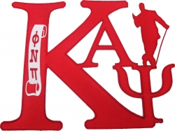 View Buying Options For The Kappa Alpha Psi Swag Series Tackle Twill Iron-On Patch